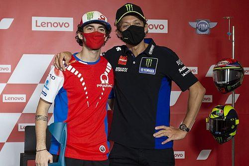Bagnaia Sebut Rossi sebagai Mentor Terbaik