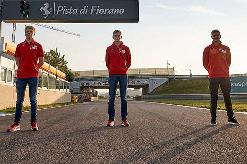 F1: Ferrari fala sobre potencial de Schumacher, Ilott e Shwartzman para o futuro