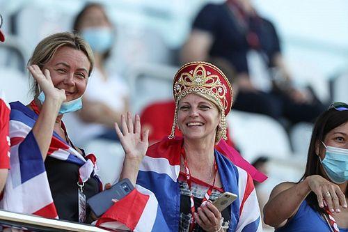 Fotos: mucho público en las gradas de F1, pocas mascarillas