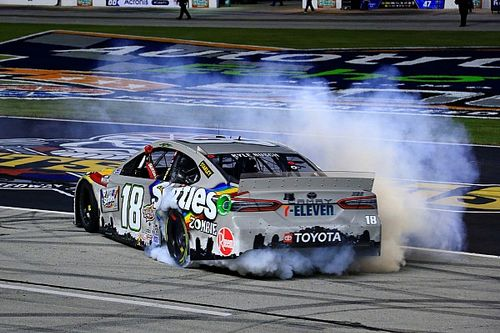 Is Kyle Busch's win enough to keep the No. 18 team together?