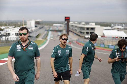 Vettel start achteraan in Austin na motorwissel