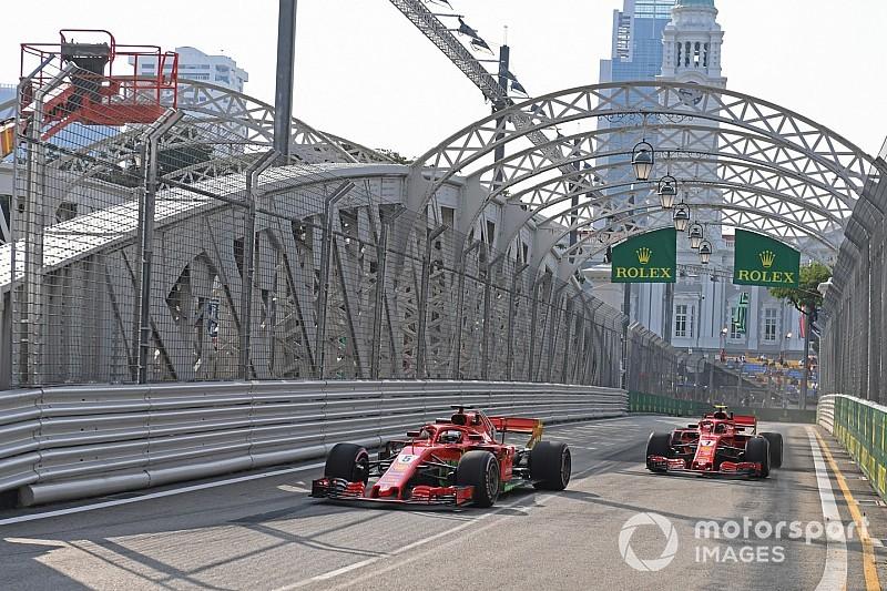 فيراري: فرض أوامر الفريق في بداية السباق