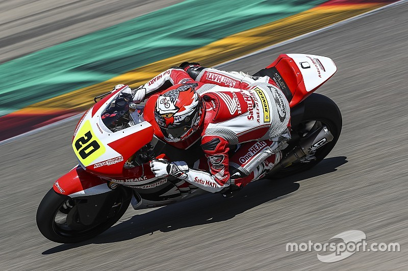 CEV Moto2 Aragon: Dua balapan sulit Dimas Ekky