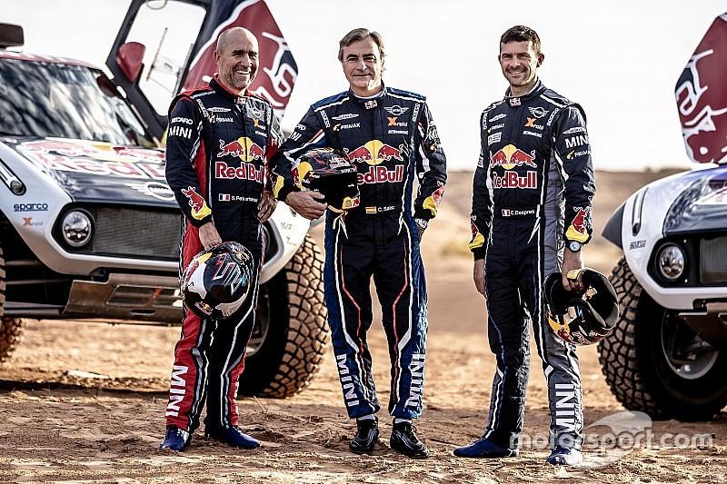 Петерансель, Сайнс и Депре подписали контракты с X-Raid