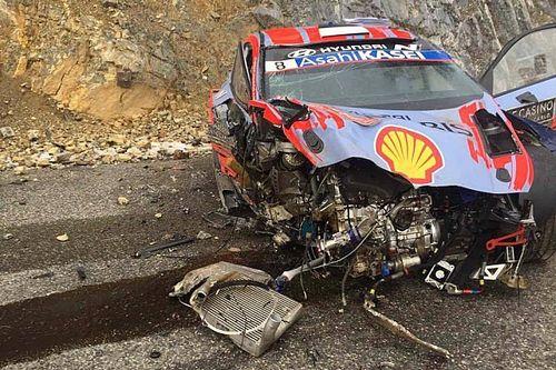 Тянак попал в серьезную аварию в Монте-Карло