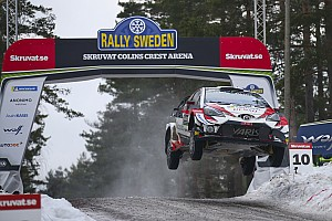 Fotogallery WRC: i salti più spettacolari al Colin's Crest nell'edizione 2019 del Rally di Svezia