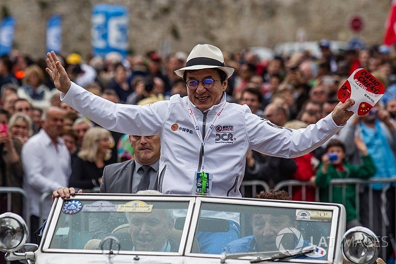 Jackie Chan compares winning Le Mans to receiving Oscar