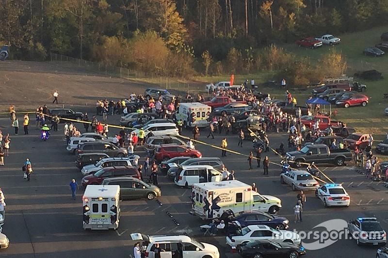 Presentan cargos a sospechoso de atropellar a fans en Martinsville