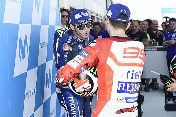 """MotoGP Noticias Rossi sobre Lorenzo: """"No es fácil seguir creyendo en uno mismo"""""""