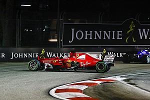 F1 Noticias de última hora El motor del Ferrari de Vettel sobrevivió al caos de Singapur