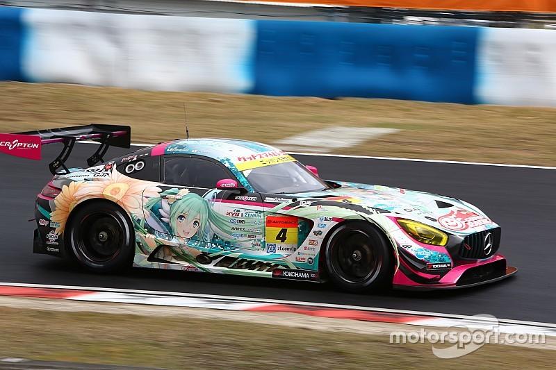 【スーパーGT】岡山決勝GT300:大波乱の開幕戦、4号車初音ミク完勝