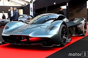 Automotive Nieuws Aston Martin AM-RB 001: dit zijn de eerste beelden
