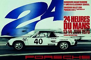GALERÍA: Los 20 carteles de Porsche para celebrar sus victorias en Le Mans