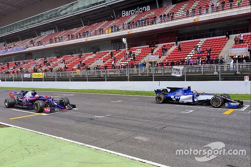 【F1】今季はスタートがさらに困難に? クラッチパドルの規制が強化
