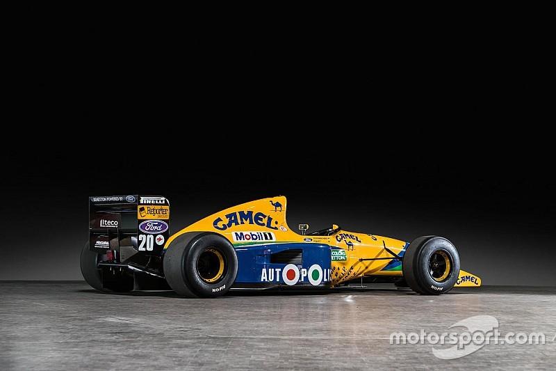 Одну з машин Ф1 Міхаеля Шумахера виставлено на аукціон