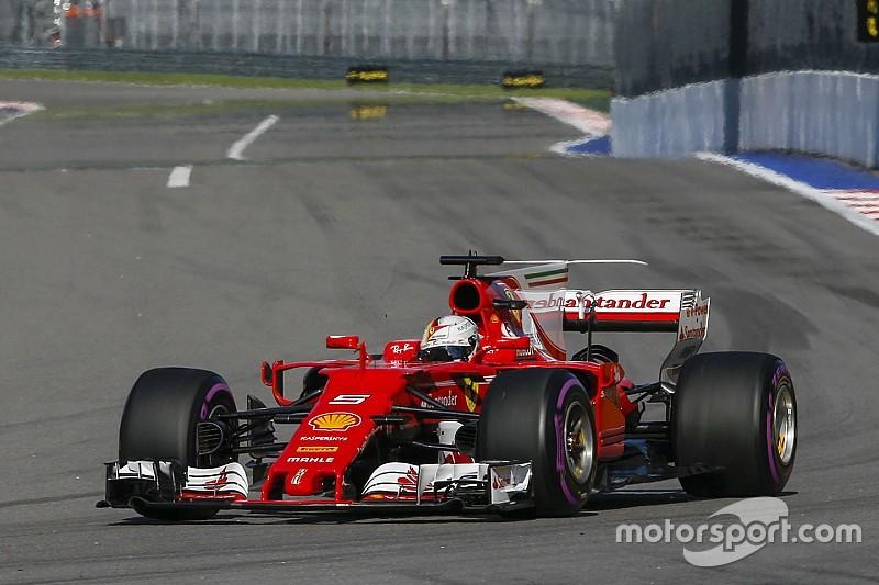 Феттель заявил, что Ferrari проиграла гонку на старте