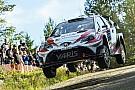 WRC Лаппи перехватил у Латвалы лидерство в Финляндии