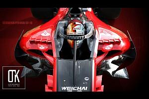 F1 Noticias Concepto de diseño para el Halo de Ferrari 2018