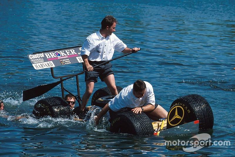 В Формуле 1 возродили традицию гонок на плотах