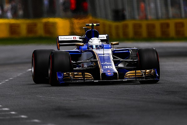 Sauber von Antonio Giovinazzis Formel-1-Debüt