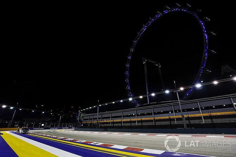 Leszakadt az ég Szingapúrban: vizes F1-es szabadedzés?