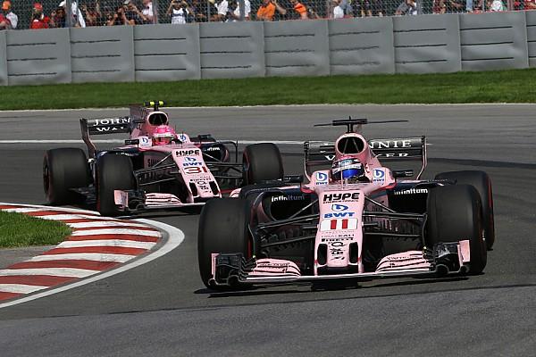 В Force India пожалели, что не приказали Пересу пропустить Окона