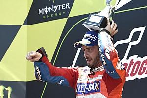 MotoGP Noticias de última hora Ducati celebra en la fábrica el doblete de Dovizioso
