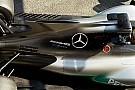 Forma-1 Nem egyszerű uszony a Mercedesé, ugyanis a hűtést is szolgálja