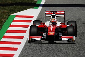 FIA F2 予選レポート 【F2】ルクレールが2戦連続でPP獲得。松下信治は10番手