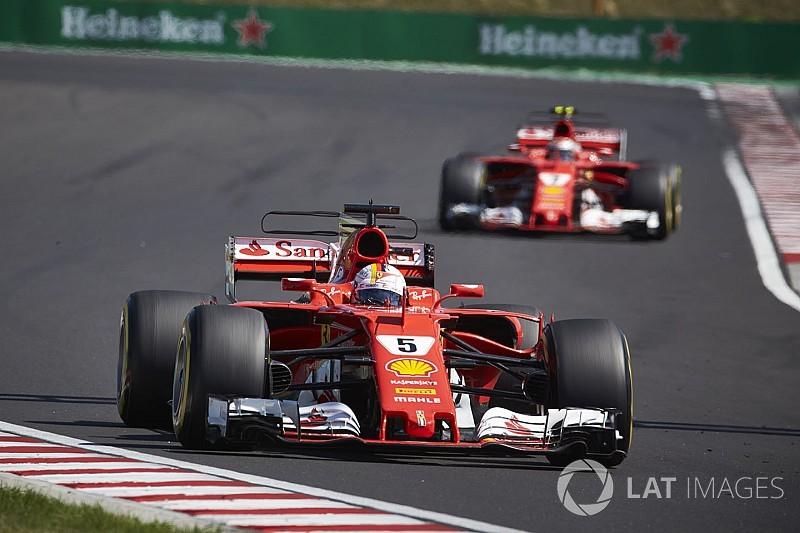 """Vettel : Ferrari se fait copier, et """"c'est bon signe"""""""