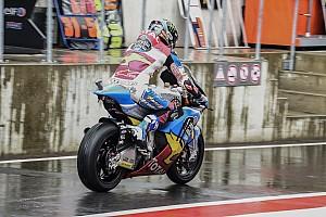 Moto2 Prove libere Motegi, Libere 1: nel diluvio svetta Marquez, Bagnaia è quarto