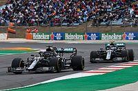 梅赛德斯解释博塔斯在硬胎阶段车速不佳的的原因