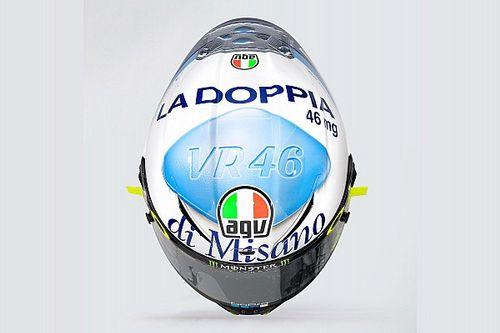 "Galeri: Rossi'nin ""viagra"" temalı San Marino GP özel kaskı"
