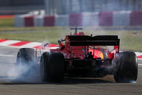 Ferrari au GP du Portugal avec un diffuseur évolué
