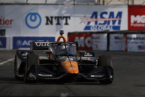 Newgarden gana la pole en Long Beach; O'Ward y Palou fuera del top 5