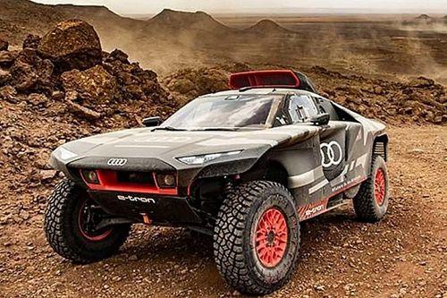 Hőségben és homokviharban tesztelik az Audi RS Q e-tront