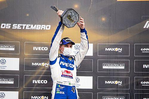 Felipe Giaffone conquista pódio duplo para a Iveco Usual Racing em Curitiba pela Copa Truck