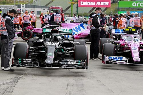 """""""Difficult to believe"""" Racing Point copied Mercedes so well"""