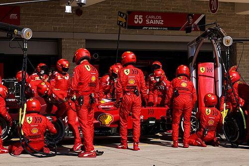 Ferrari, Amerika'da en hızlı pit stopu yaptı