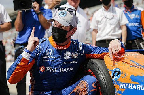 Диксон в четвертый раз в карьере завоевал поул «Инди-500»