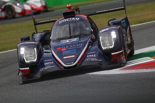United Autosports down to one LMP2 car for Monza ELMS round