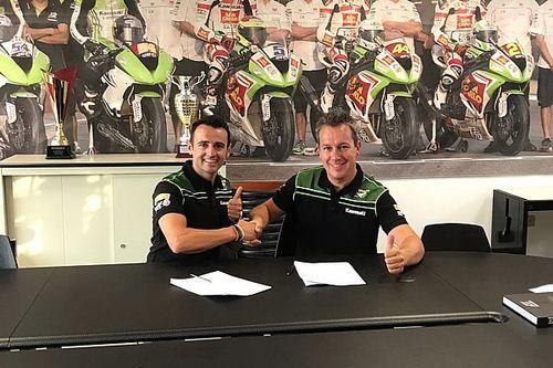 Barberá ficha por el Kawasaki Puccetti para lo que resta de temporada en Supersport