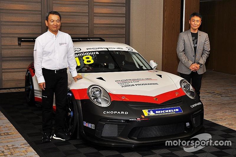 ポルシェ、日本でのGT4レースとEレーシングシリーズを立ち上げへ