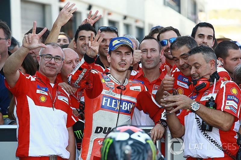 Lorenzo: Ini hasil terbaik saya bersama Ducati