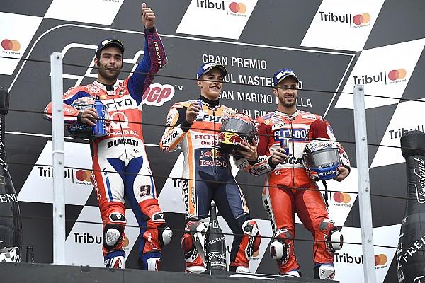 MotoGP Petrucci majdnem átadta a második helyet Dovinak