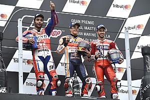 MotoGP BRÉKING Petrucci majdnem átadta a második helyet Dovinak