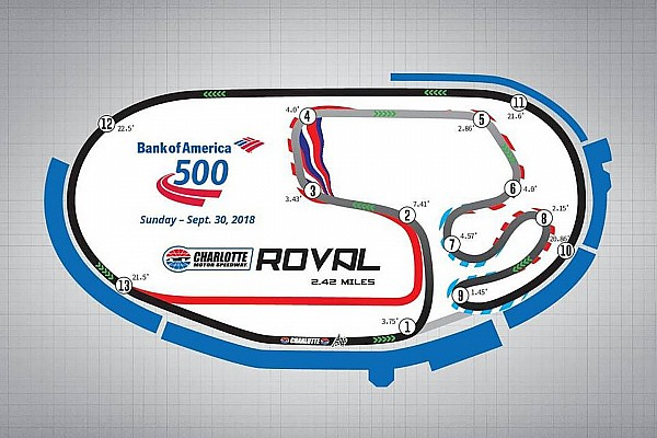 NASCAR Cup Breaking news New road course among changes to 2018 NASCAR schedules