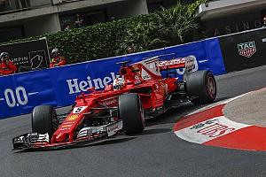 Formel 1 Trainingsbericht Formel 1 2017 in Monaco: Ferrari-Pilot Vettel glänzt mit Bestzeit