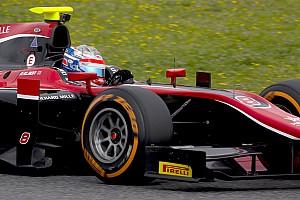 FIA F2 Intervista Albon: