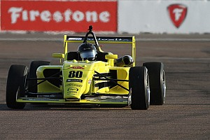 USF2000 Race report St Pete USF2000: Megennis scores first win of new era
